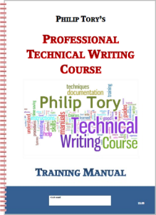 Technical Courses Manual, 150 pages, how to do professional authoring